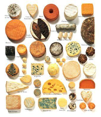 Anna en el pais de las cocinitas los quesos franceses con aoc for Guisos franceses