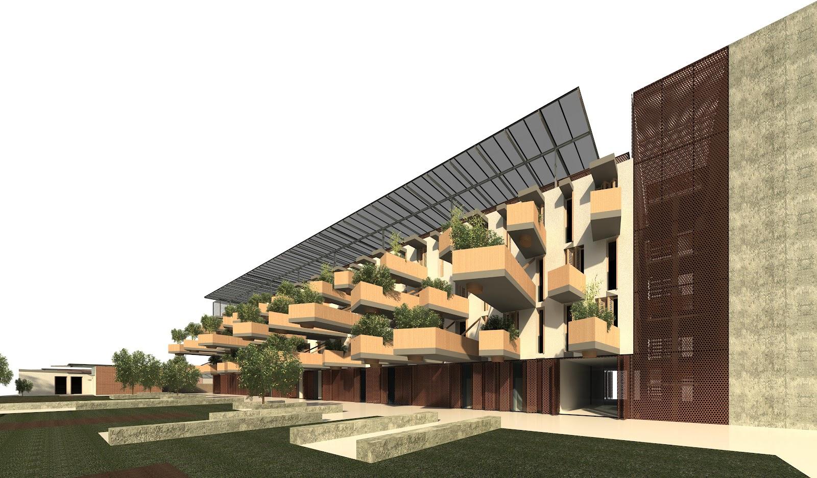 Hortus social housing a porta portese dal lab iv di - Porta portese sud ...