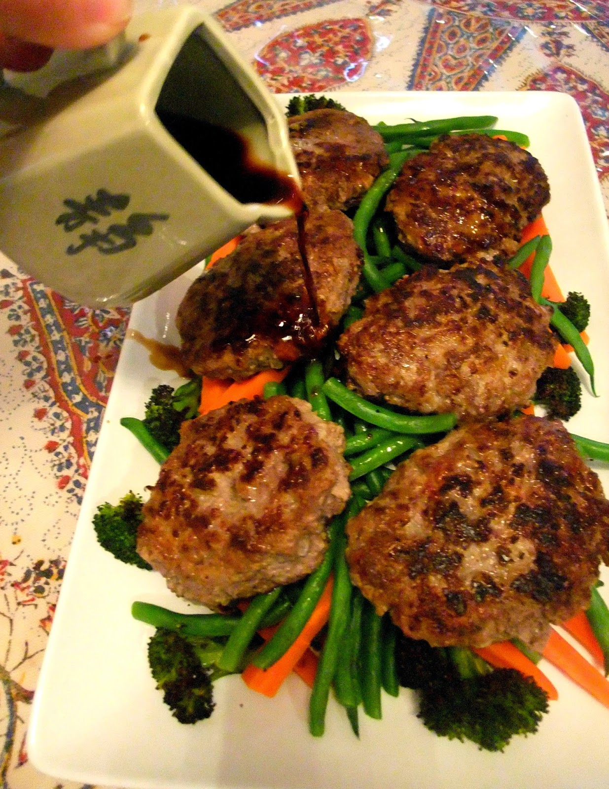Susan's Savour-It!: Teriyaki Hamburg Steak (Hambagu)....