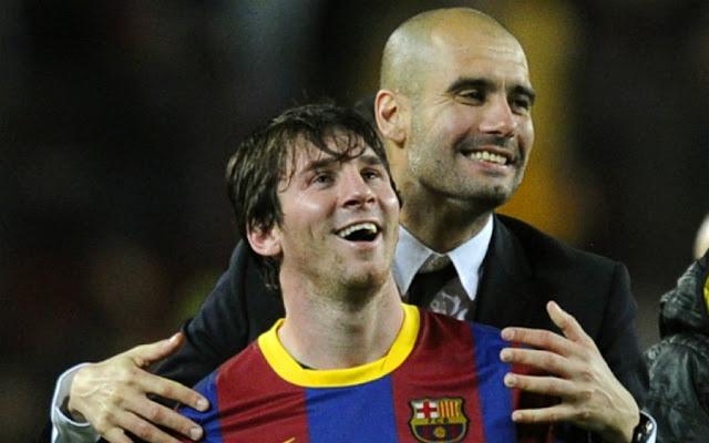 Messi é o único jogador que não precisa fazer o que Guardiola diz, segundo o próprio espanhol (foto: AFP)