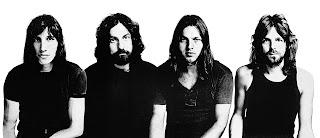 Buenos tiempos para Pink Floyd los de esta imagen