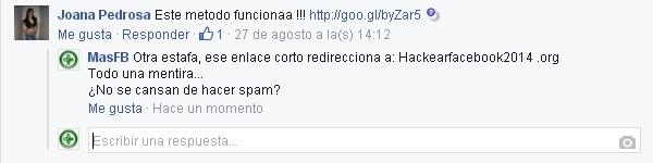 Hackear Facebook SPAM - MasFB