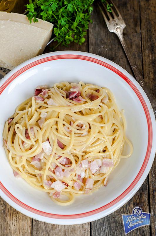 Spaghetti carbonara przepis