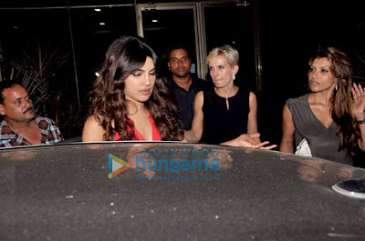 Priyanka Chopra snapped outside restaurant 'Yauatcha'