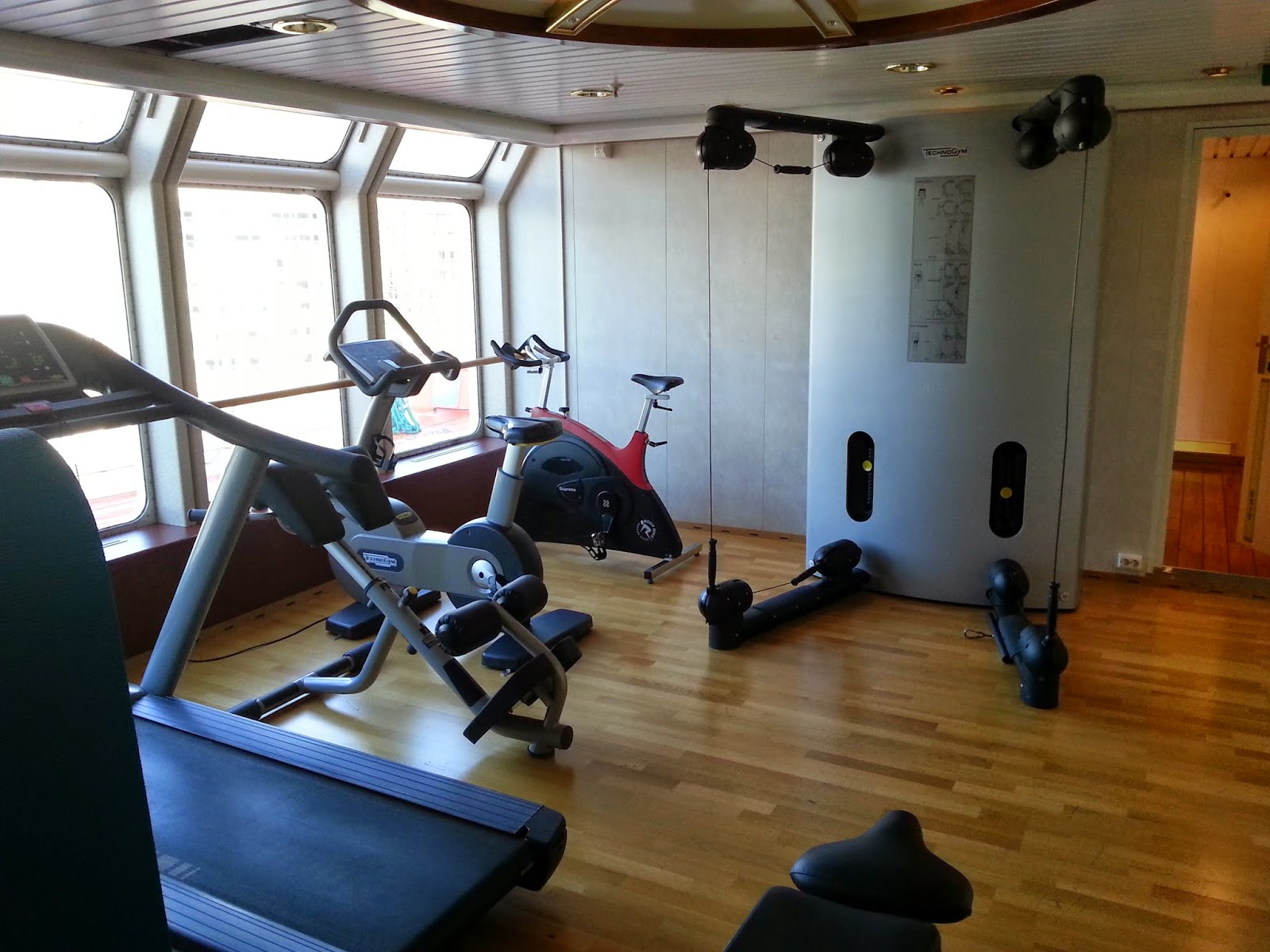 Hurtigruten MS Nordlys - Fitness Centre