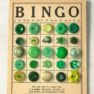 Bingo Button Card