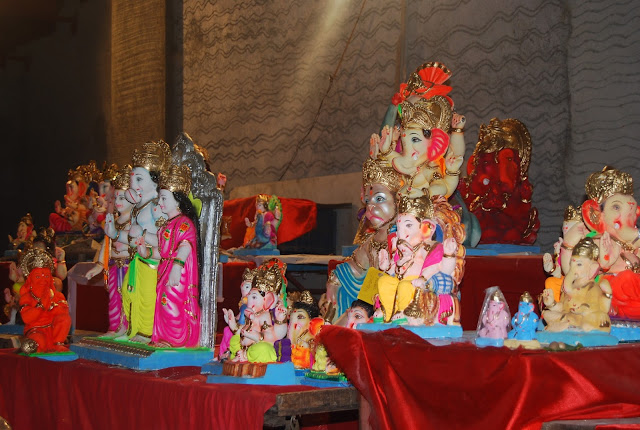Ganesh idol in Bombay
