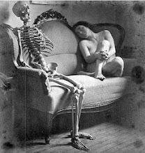 Encontro com a mulher esqueleto