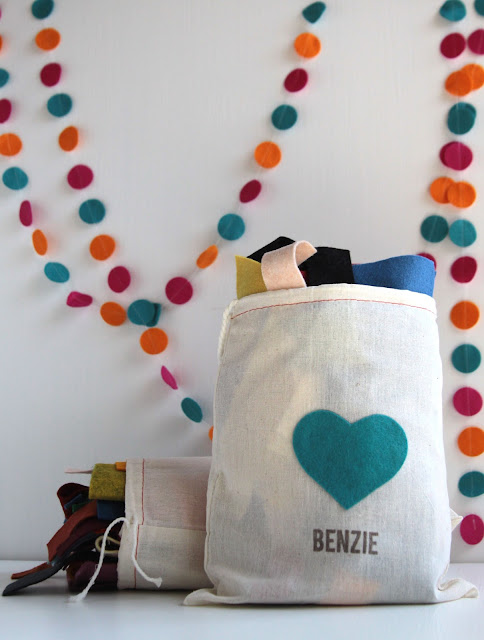 Felt Scraps by Benzie