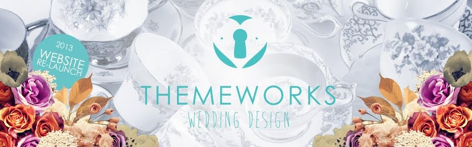 Theme-Works Weddings // Themed Weddings // Wedding Styling // Wedding Prop Hire