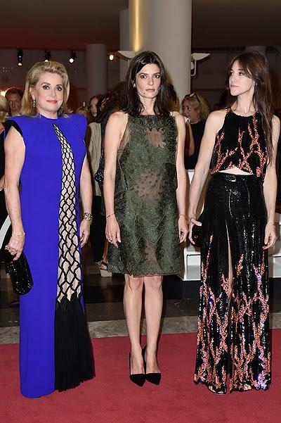 Catherine Deneuve, Chiara Mastroianni and Charlotte Gainsbourg _Venice 2014