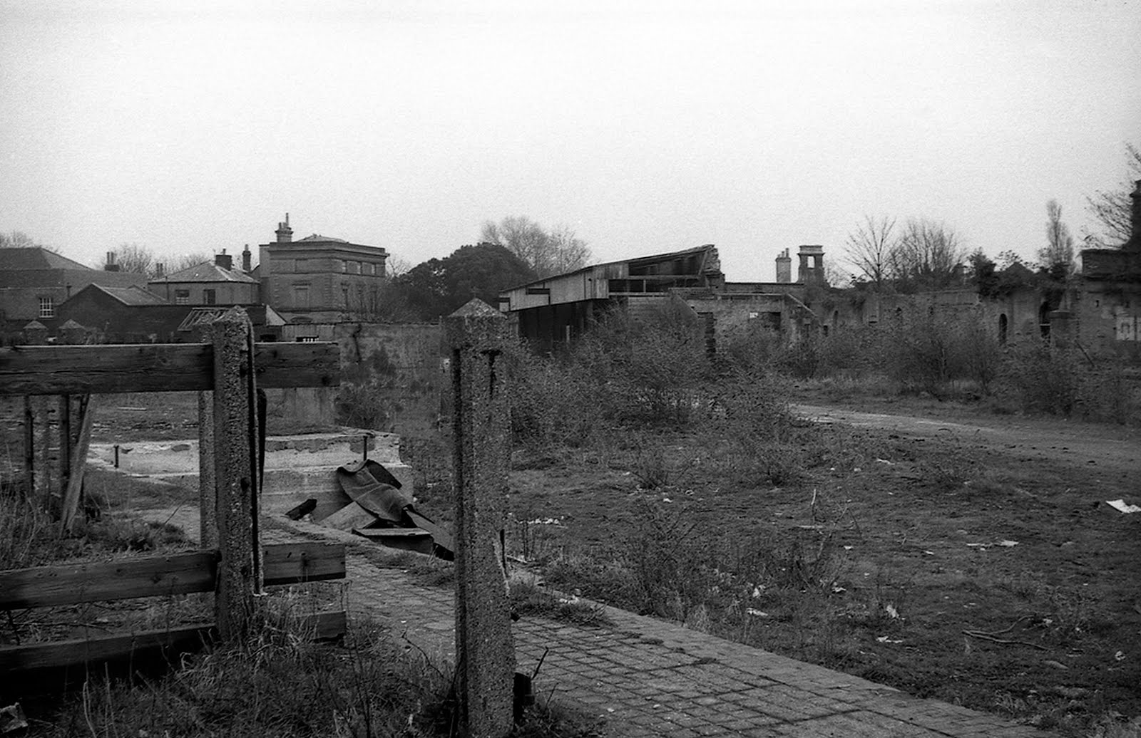 Gosport Station Yard derelict