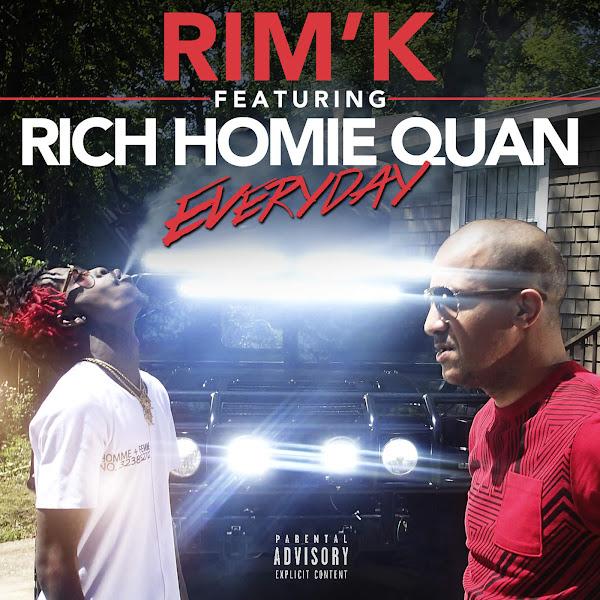 Rim'K - Everyday (feat. Rich Homie Quan) - Single Cover