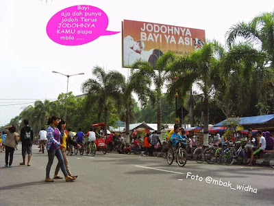 asal nyepret car free day klaten