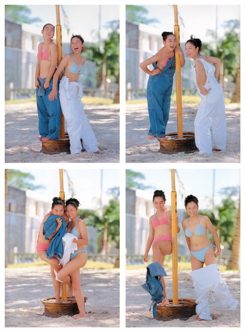 yoko mitsuya and saori nara stripping japanese teens 02