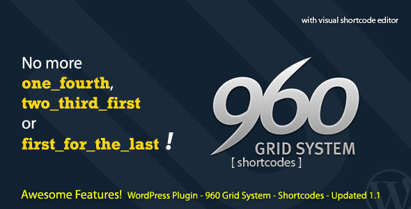 Image for 960 Grid System Shortcode Plugin by CodeCanyon