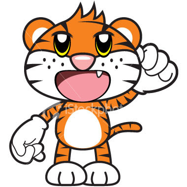 Cartoon tigers search results from Google