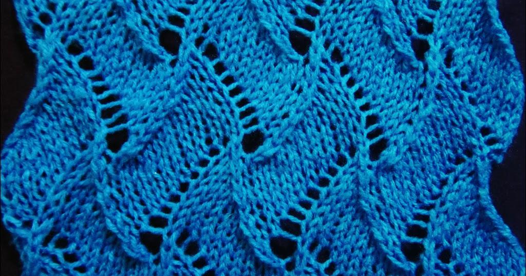 Knitting No Stitch : Lace Knitting Pattern 5 - Knitting Unlimited