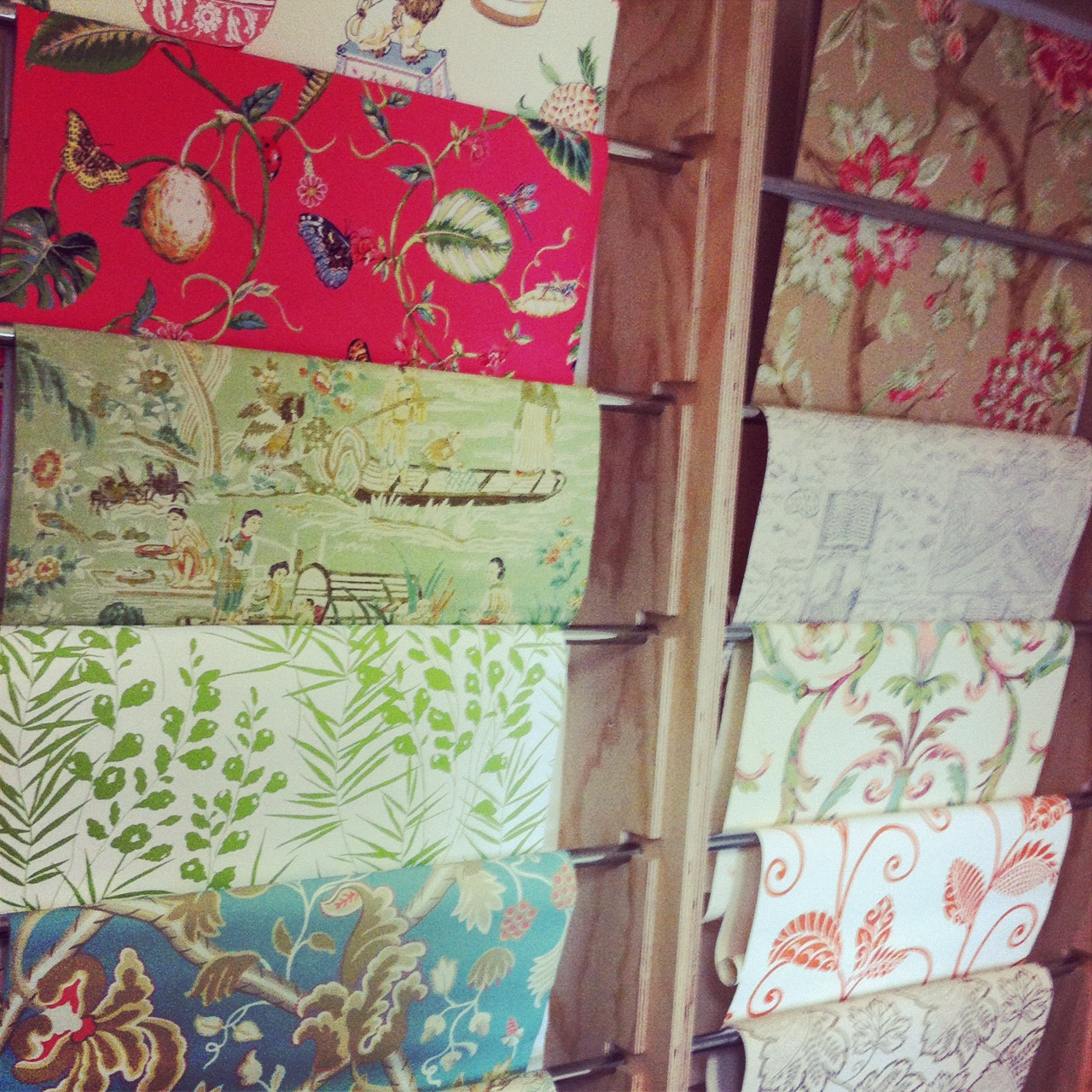 Thibaut Fabrics And Wallpapers: A Blind Pash Interiors: Thibaut