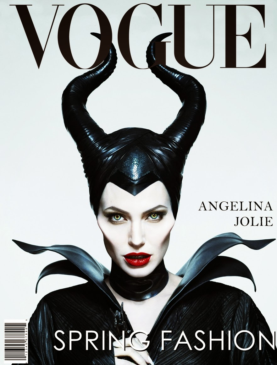 Angelina Jolie For Vogue June 2014 | Maleficent Cover