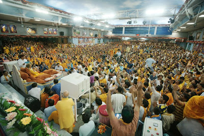 Sadhana Program with Kripaluji Maharaj is a chance to experience Radha Krishna love