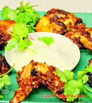 how to make spicy fried chicken wings