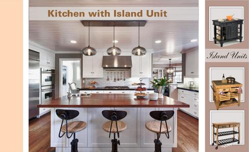 Simple interior concepts five efficient kitchen layouts for Most efficient kitchen layout