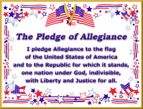 Pledge of Allegiance Musings