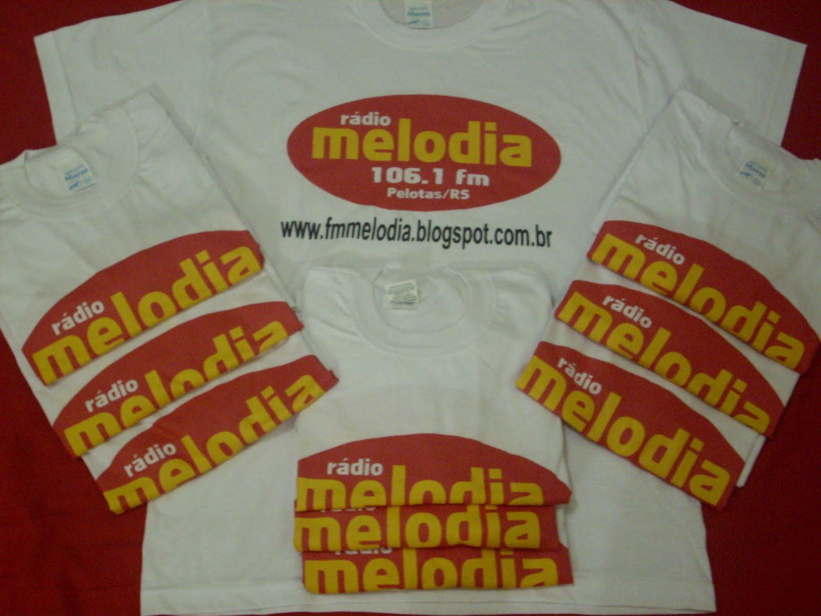 NOVAS CAMISETAS DA MELODIA FM IV