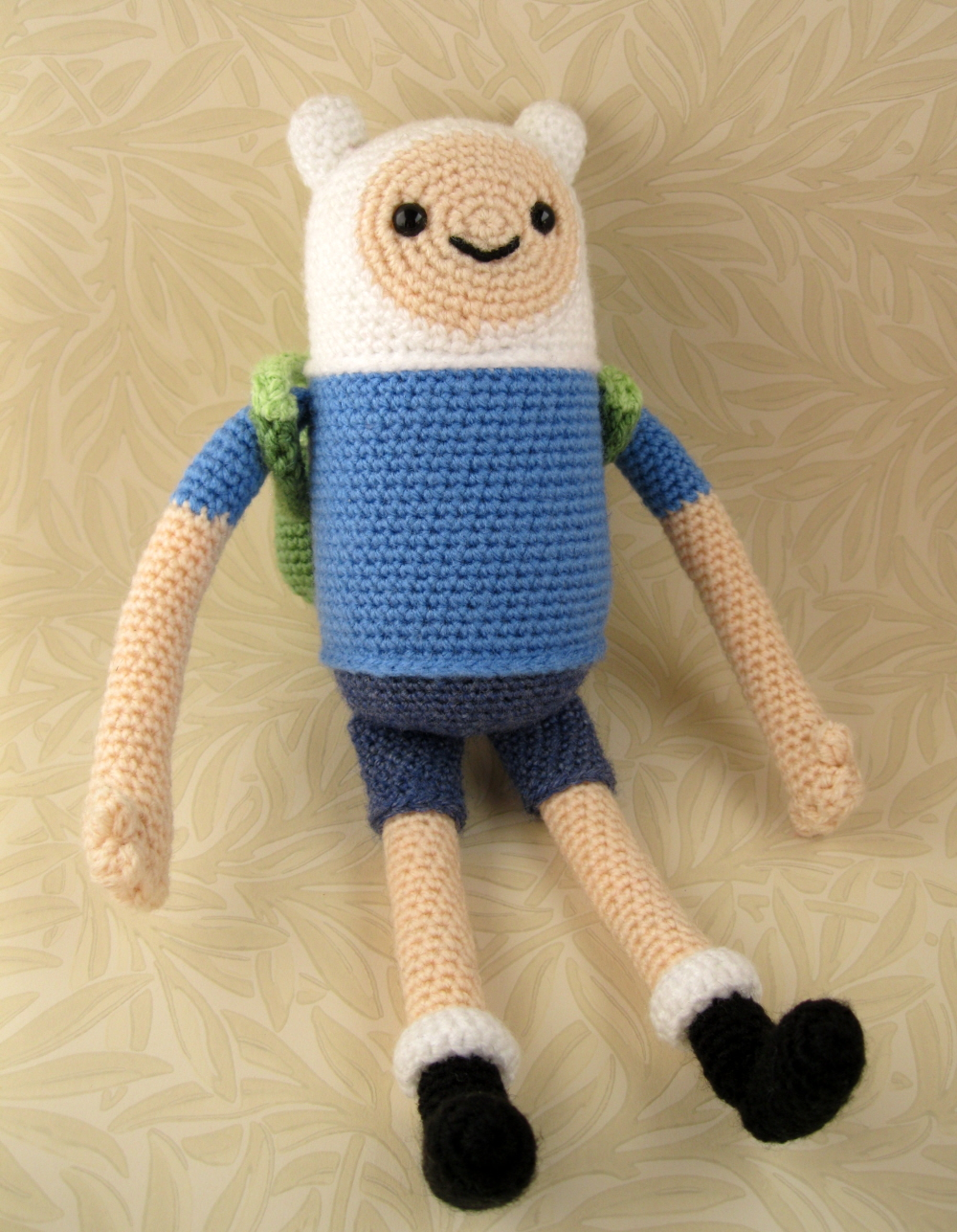 Adventure Time Jake Amigurumi Pattern : LucyRavenscar - Crochet Creatures: Adventure Time with ...