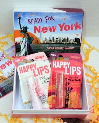 Blistex Happy Lips Ready For New York + Shine Like Paris