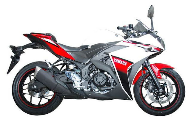 Dua Pilihan Warna Baru Yamaha YZF-R25 di Tahun 2016