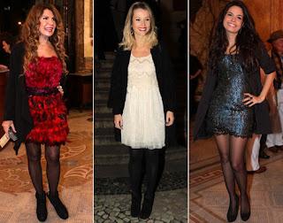 fotos de Vestidos com Sobretudos