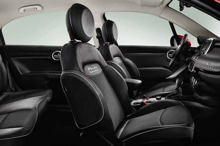 Fiat 500X (2015) Interior