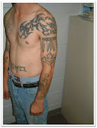 Awesome Shoulder and Chest Tattoo Design for Men