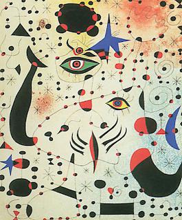 """Joan Mirò """"Cifre e costellazioni innamorate di una donna"""""""