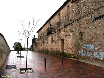Can Castells pel cantó del carrer de l'Església. Autor: Carlos Albacete