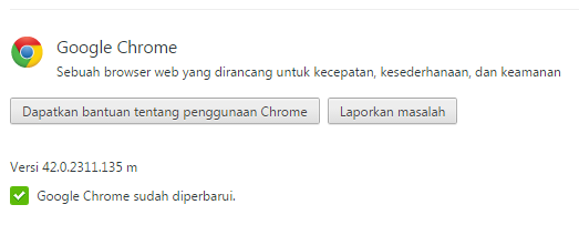 Download Google Chrome Terbaru 42.0.2311.135