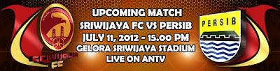 Prediksi Skor Sriwijaya FC Vs Persib 11 Juli 2012