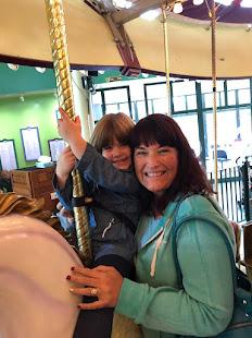Emmie and Grandma!