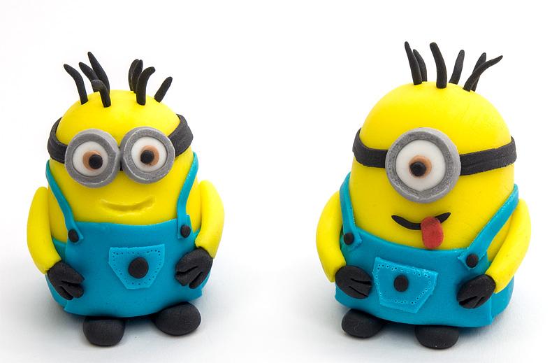 Minion fondant figures