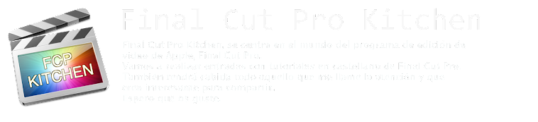 Final Cut Pro Kitchen