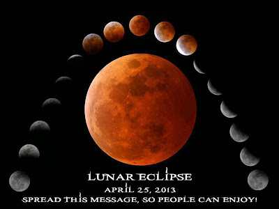 ECLIPSE LUNAR PARCIAL 25 DE ABRIL 2013