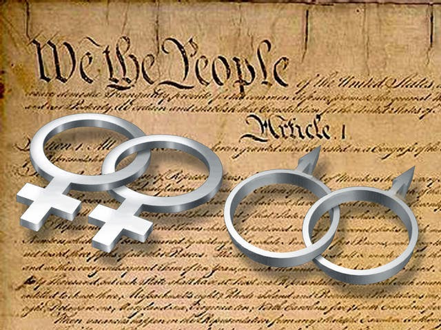 58% OF AMERICANS SAY GAYS HAVE A CONSTITUTIONAL RIGHT TO MARRY ...