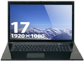 PC Koubou Lesance BTO Di CL7H3 17.3-Inch Notebook
