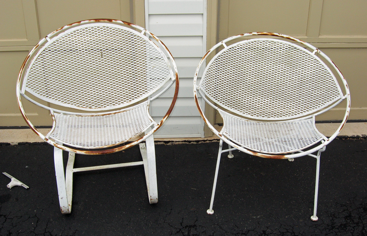 salterini outdoor furniture. Comfortable Lawn Chairs We\u0027ve Ever Had. This Was A Pair Of John  Salterini Clam Shell Which We Already Have 2. We Snapped These Babies Up Fast! Salterini Outdoor Furniture R
