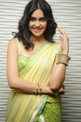 Adah sharma glam pics in saree-thumbnail-3