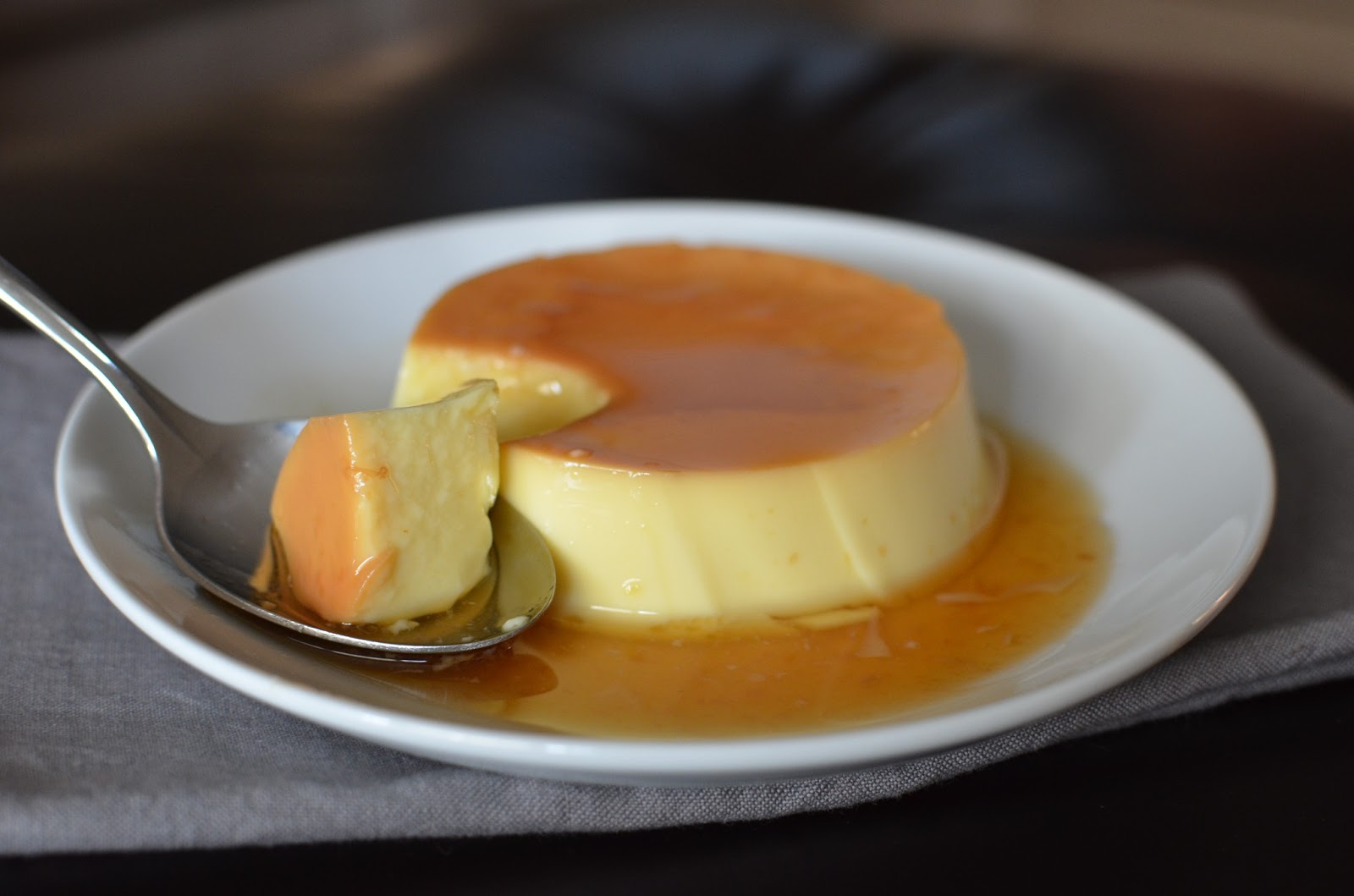 Playing with Flour: Chilled Spanish flan