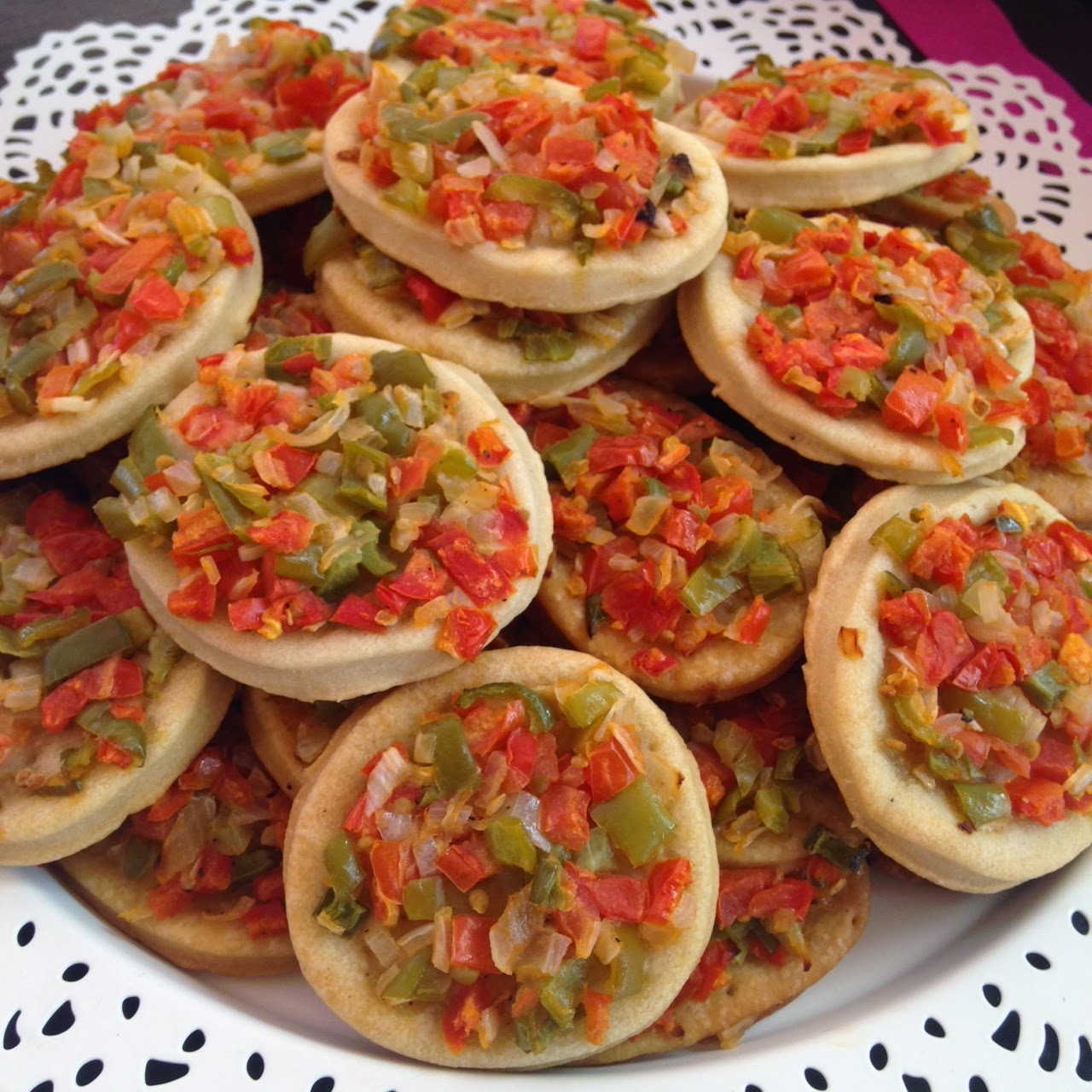 Mesa dulce salada de amart para la boda de malen juan for Mesa salada para cumple