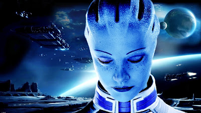 Mass Effect Liara Tsoni Wallpaper